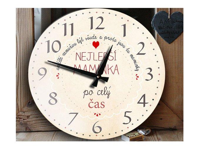 dárek pro maminku, hodiny