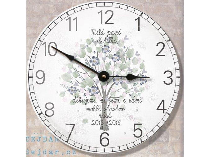 hodiny pro paní učitelku