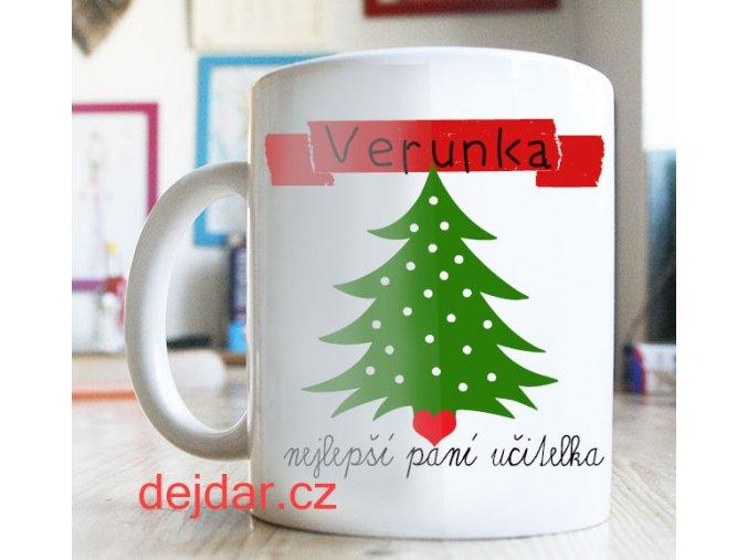 vánoční dárek pro paní učitelku