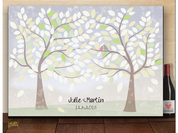 svatební strom, dar ke svatbě