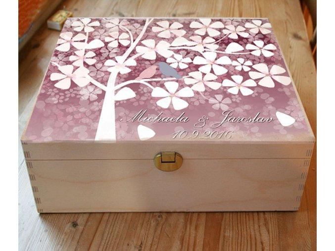 svatební truhla, dar