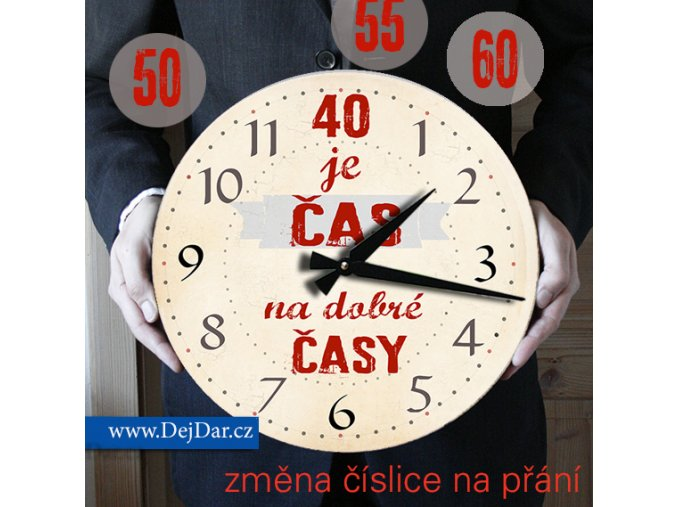 hodiny k narozeninám