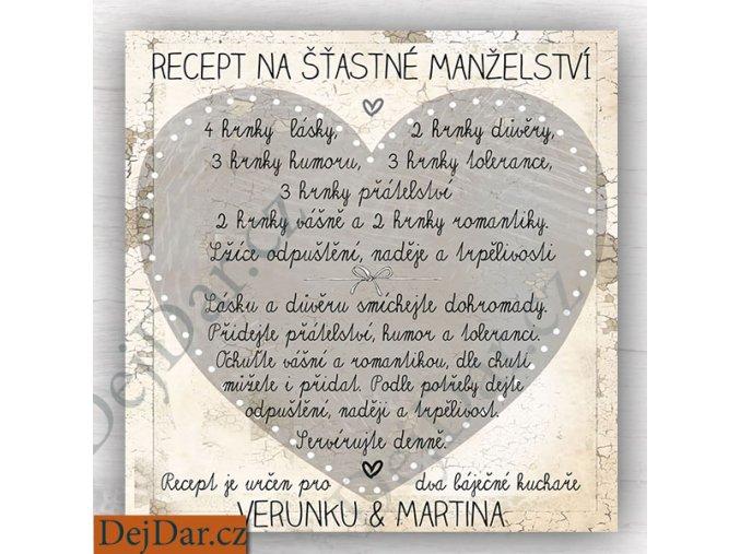 recept na šťastné manželství