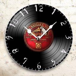 hodiny motiv gramofonová deska