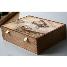 Kazeta, krabice na fotky, dárek pro muže