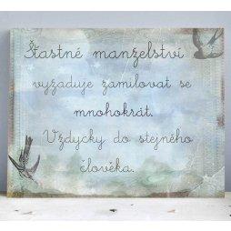 svatební citát