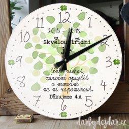 hodiny pro učitelku