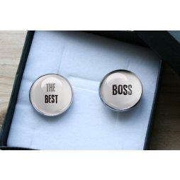 manžetové knoflíčky, dárek pro šéfa