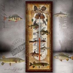 teploměr ryby