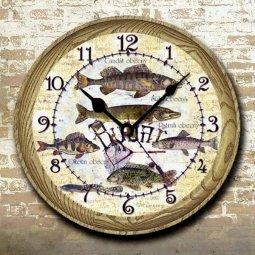 hodiny rybář