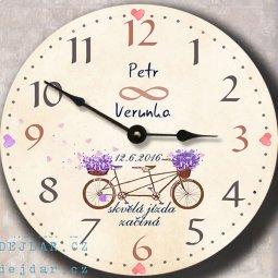 svatební hodiny, dar, dárek