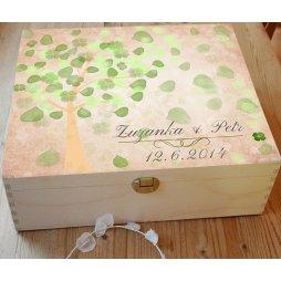 Svatební krabice, tip na dárek ke svatbě