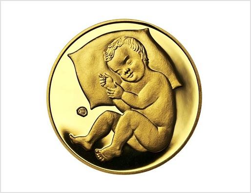 Již naši předkové dávali do kolébky zlatý dukát