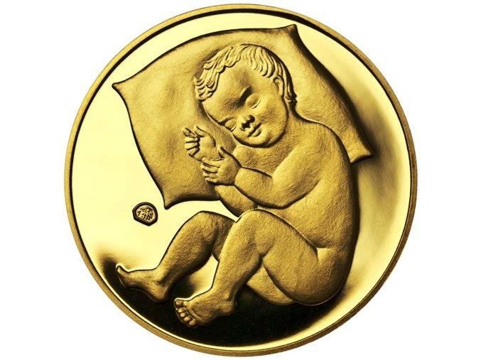 Zlatý dukát k narození dítěte 2019