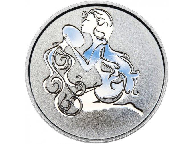 Znamení zvěrokruhu VODNÁŘ - stříbrná medaile
