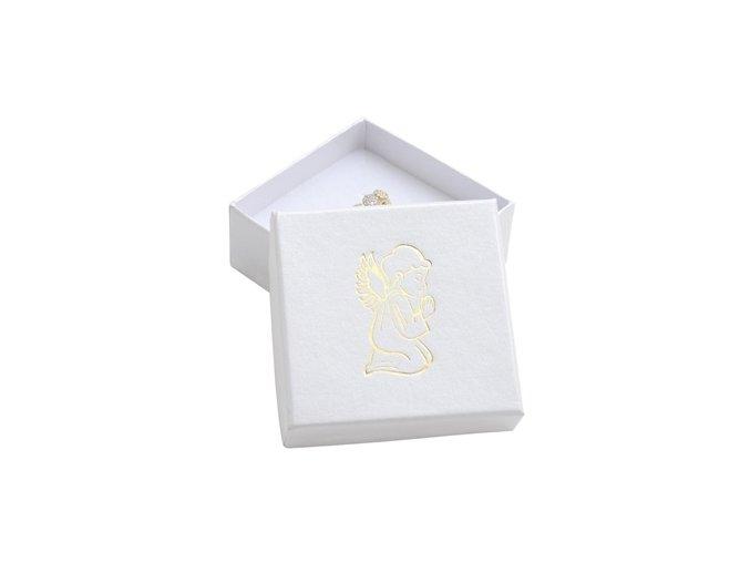 bila darkova krabicka zlaty andel 076416 pd 30