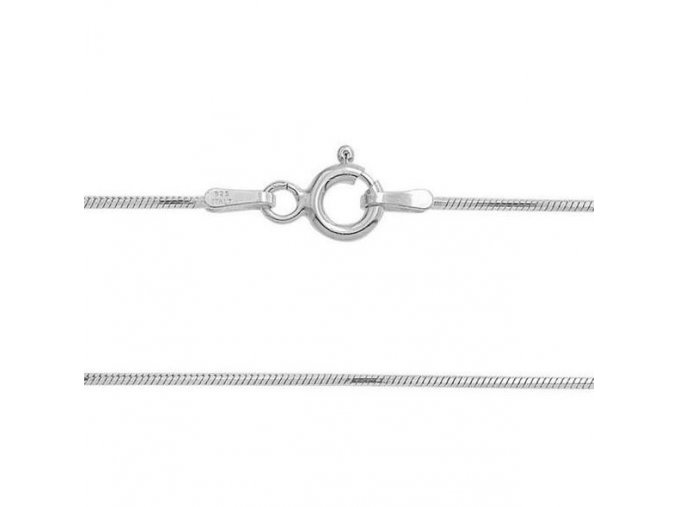 Stříbrný řetízek had 42 cm x 0,9 mm