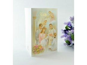 prani krest rodice a kněz 58 Kč uu