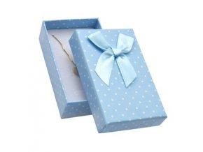 krabicka na soupravu sperku bmodra s puntiky 063511 pd u