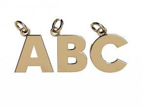 Písmenka ze žlutého zlata A-Z (Písmeno I)