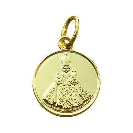 Enamel Craft Zlatý medailonek Pražské jezulátko
