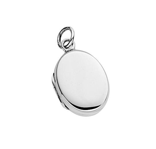Beginnings Stříbrný otevírací medailonek oválný Přívěsek: bez rytiny