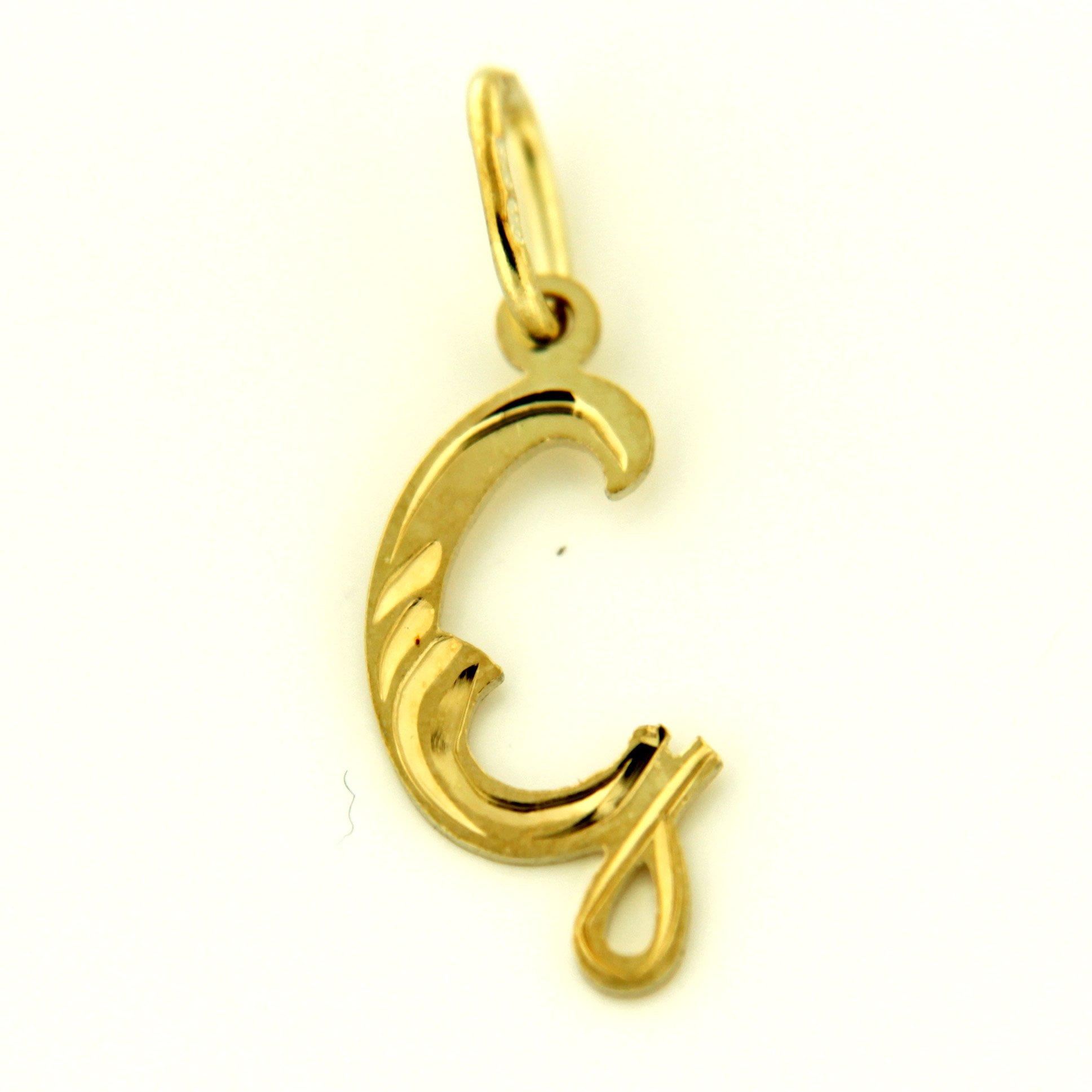 Zlaté přívěsky písmenka A - Z Písmeno: G