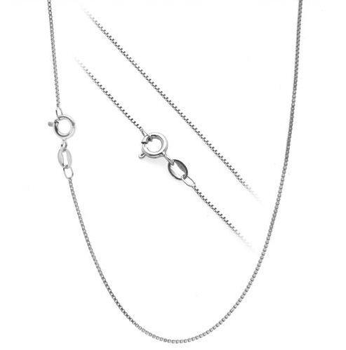 Šperky4U Stříbrný řetízek čtvercový 45 cm x 0,8 mm
