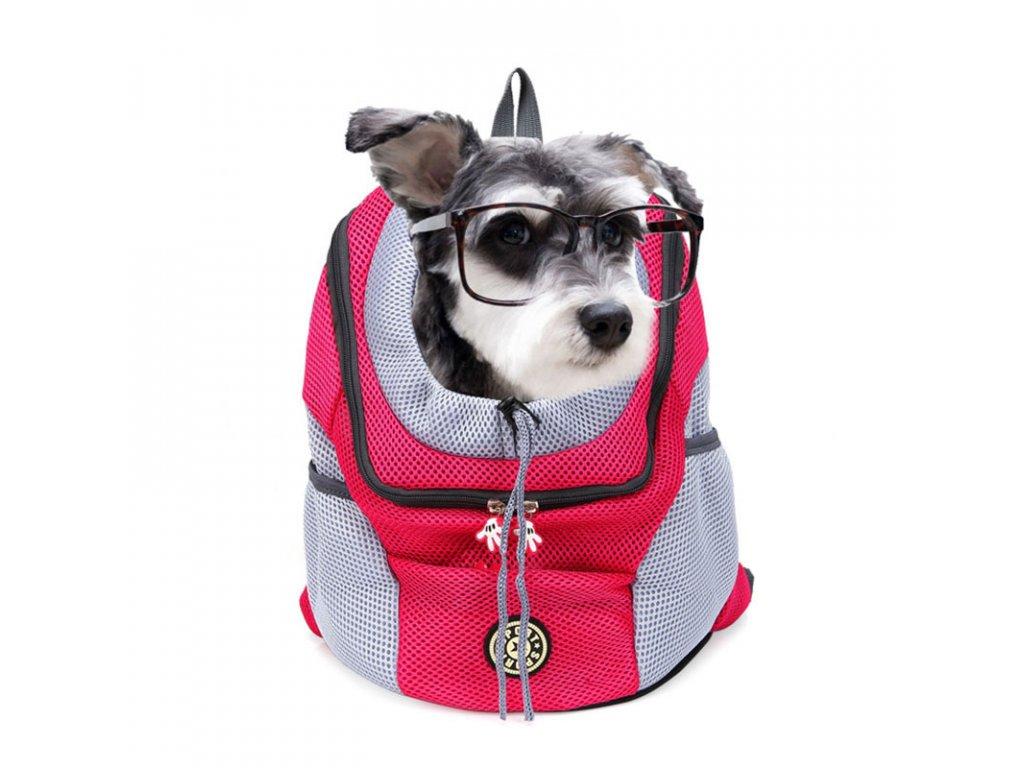 ff7cfe27de Přepravní taška batoh pro psy nebo kočky - Dárky od srdce