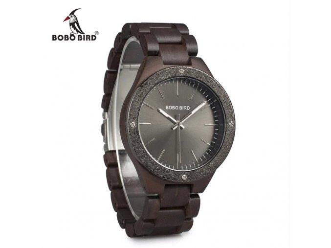 Luxusní pánské dřevěné hodinky SPACE