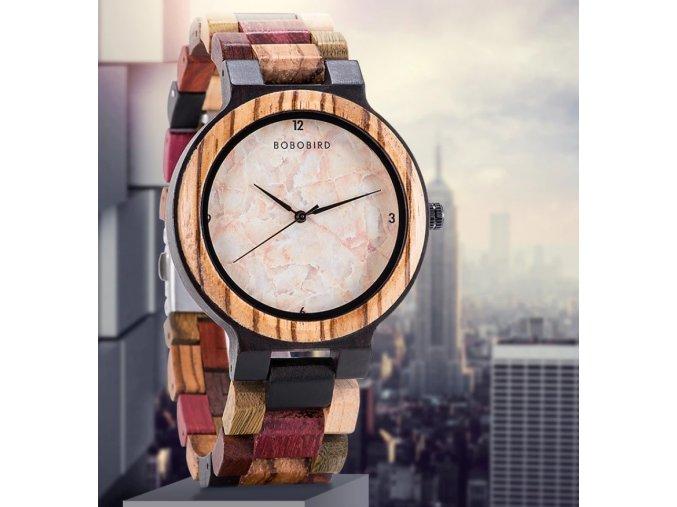 Luxusní pánské dřevěné hodinky MARBLE