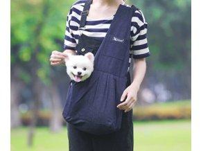 Stylová přepravní taška batoh pro psy nebo kočky