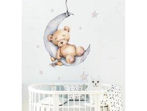 Samolepka na zeď nebo nábytek - Medvídek