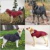 Nepromokavý obleček pláštěnka pro psy s reflexními prvky TUSY pro velká plemena