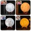 Měsíční 3D lampička s fotkou nebo textem