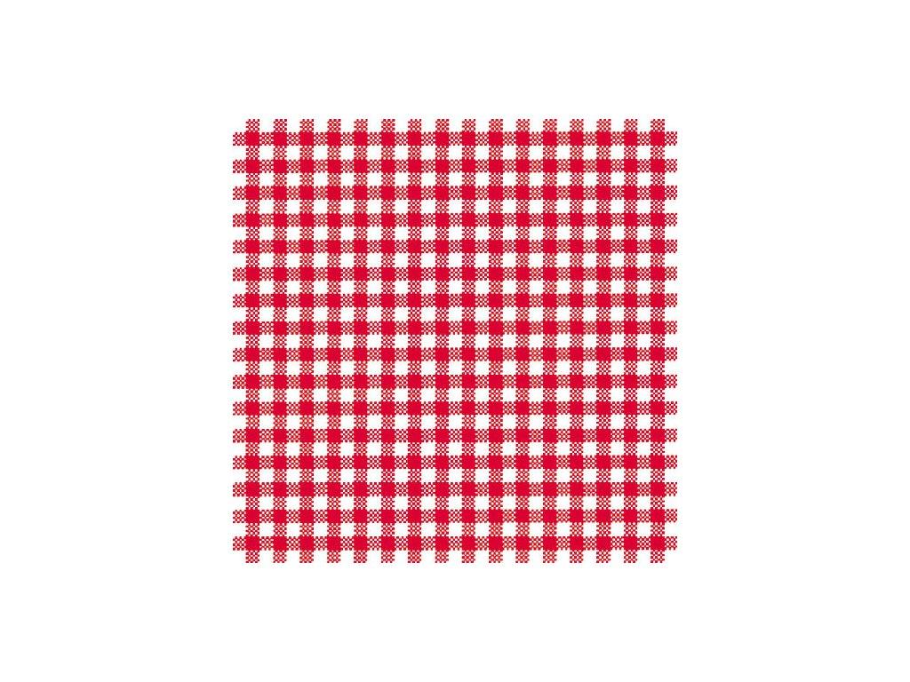 Napkin 33 Vichy Red