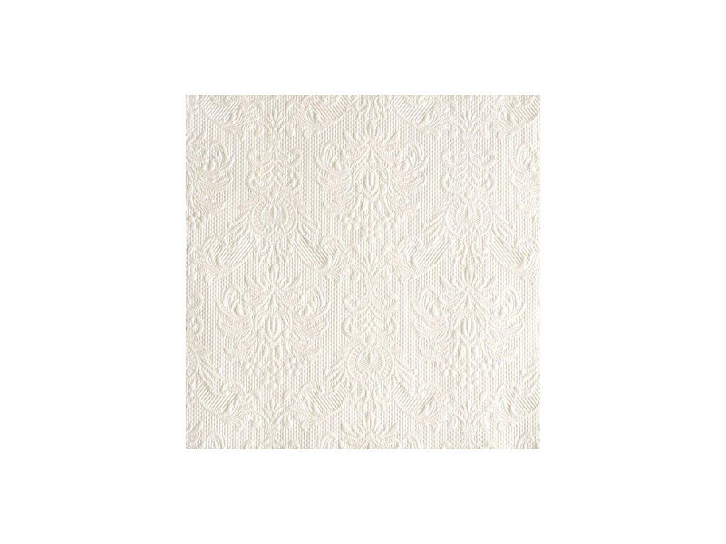 Napkin 33 Elegance Pearl White