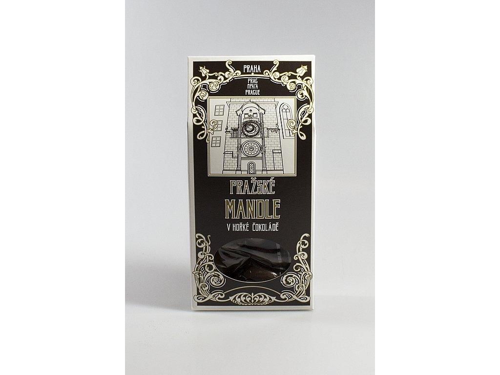 Pražské mandle v krabičce 100g