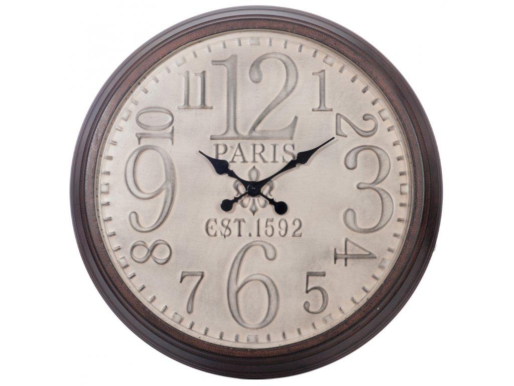 hodiny kulaté PARIS
