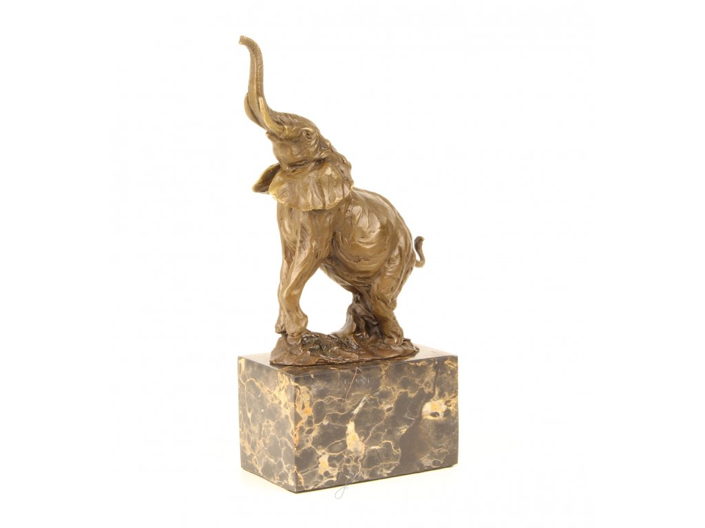 Bronzová socha slon