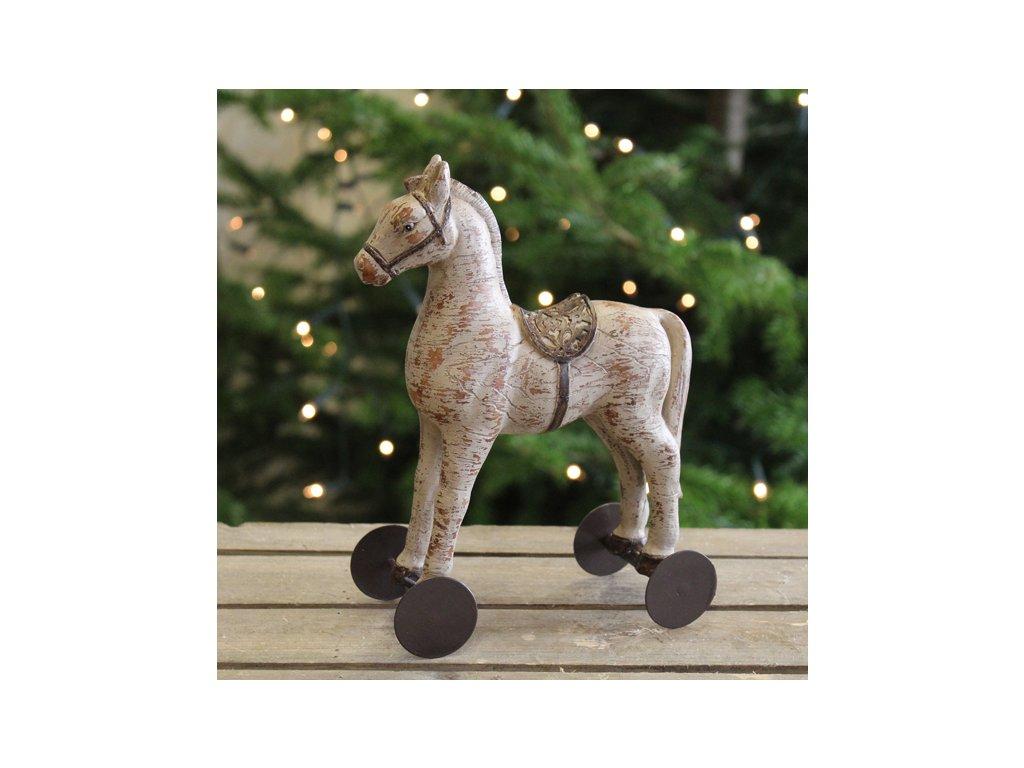 kůň na kolečkách