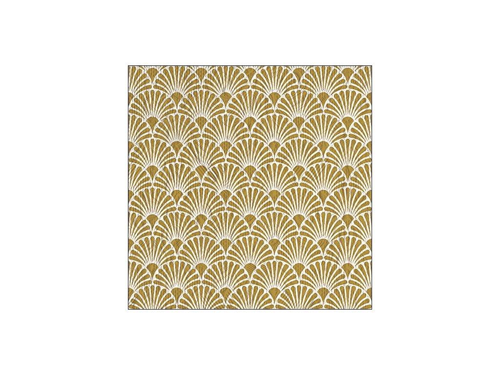 Napkin 33 Elegance Art Deco Gold