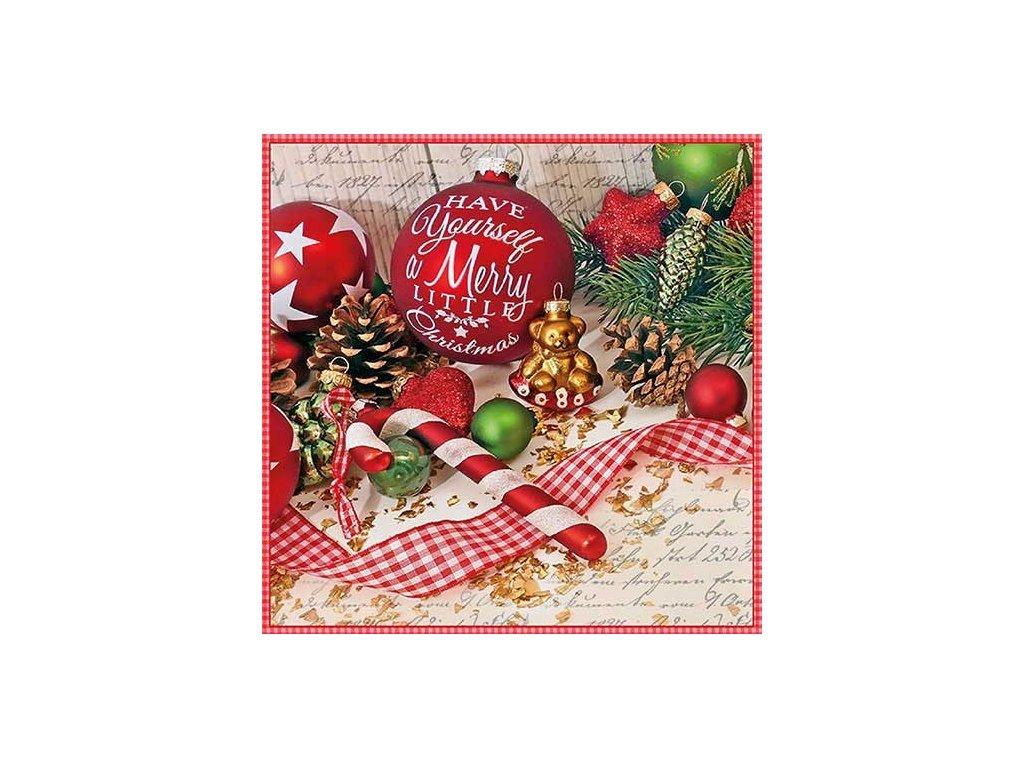Napkin 33 Merry Little Christmas
