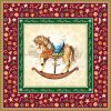 Ubrousky 33 Rocking Horse Red