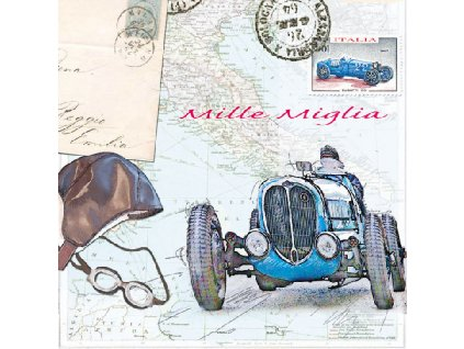 Napkin 33 Mille Miglia