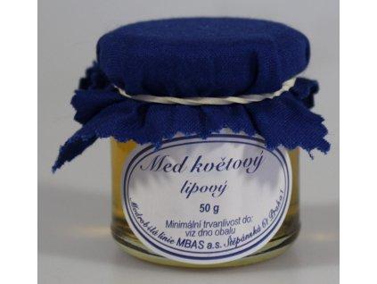 Med květový lipový 50 g
