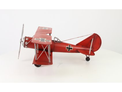 Letadlo plech Red Baron