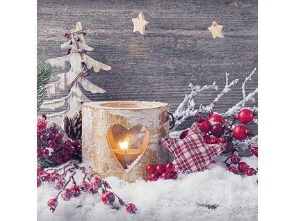 Napkin 33 Birch Candlelight