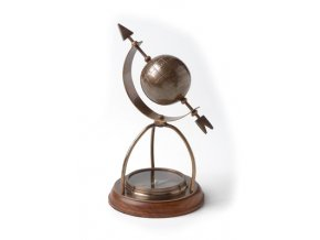 Kompas s glóbusem