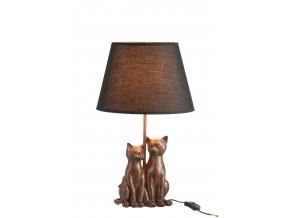 Lampa dvě kočky